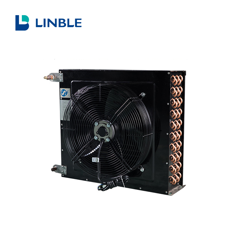H Type Air Cooled Refrigeration Condenser For Cold Room