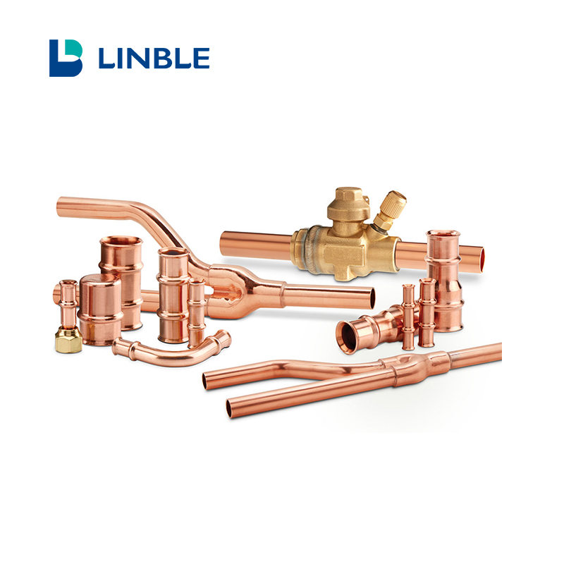 Copper pipe and copper connection for cold room